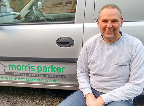 Dan Parker from Morris Parker Property Refurbishment in the Solent Area covering Southampton, Fareham and the Portsmouth area