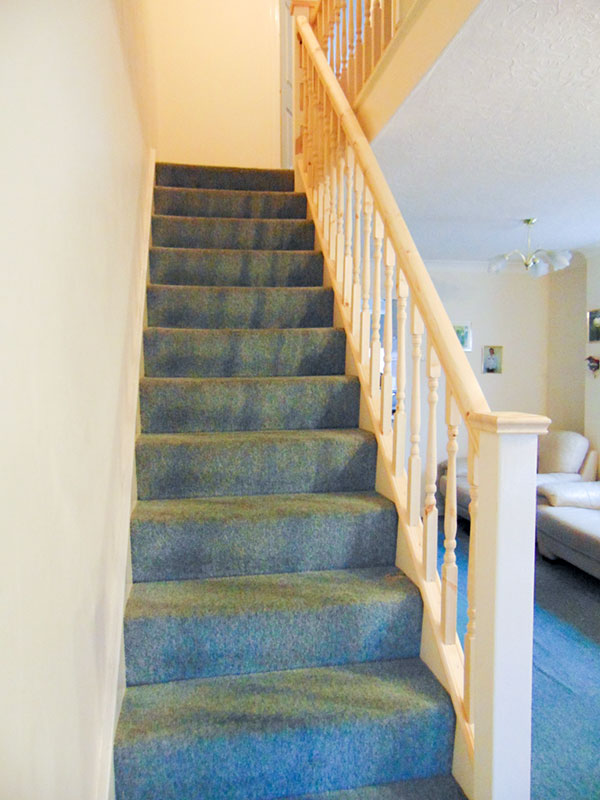 Stairs by Morris Parker Property Refurbishment in the Solent Area covering Southampton, Fareham and the Portsmouth area