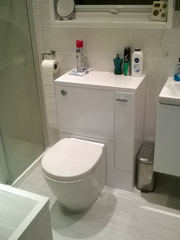 Bathroom renovation from Morris Parker