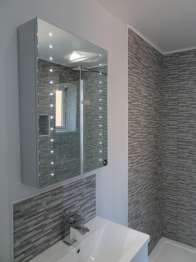 bathroom refurbishment by Morris Parker